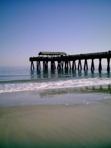 The pier at Tybee Island