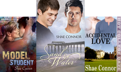Shae Connor book covers