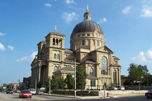 Basilica of St. Josaphat, Milwaukee, Wisconsin. Image from Wikipedia Commons.